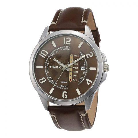 Timex Analog Brown Dial Men's Watch, TWEG16503