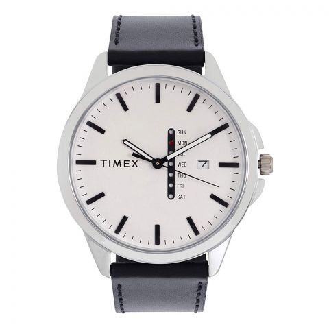 Timex Fashion Analog White Dial Men's Watch, TWEG16513