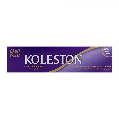Wella Koleston Color Cream Tube, 305/4 Chestnut, 60ml