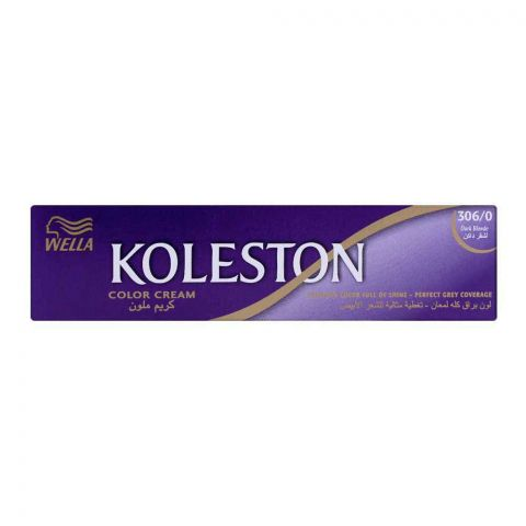 Wella Koleston Color Cream Tube, 306/0 Dark Blonde, 60ml