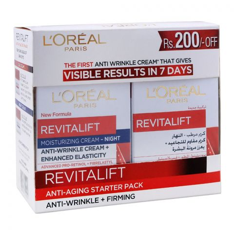 L'Oreal Paris Revitalift Anti-Wrinkle + Firming Starter Pack, Rs. 200 OFF
