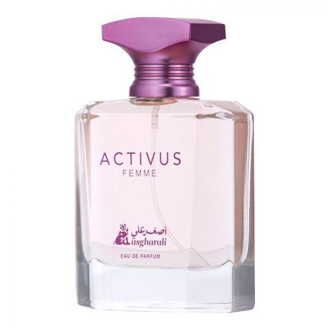 Asgharali Activus Feme Eau De Parfum, Fragrance For Women, 100ml