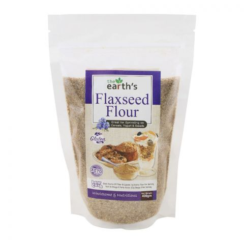 The Earth's Flax Seeds Flour, Gluten Free, 400g