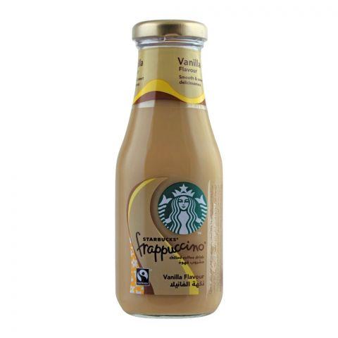 Starbucks Frappuccino Coffee Drink, Vanilla Flavor, Bottle, 250ml