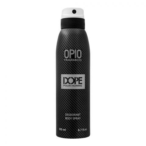 Opio Dope Pour Homme Deodorant Body Spray, For Men, 200ml
