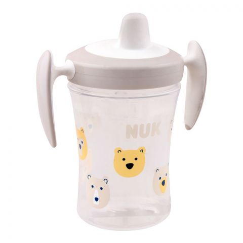 Nuk Trainer Cup, Grey, 6m+, 230ml, 10255387