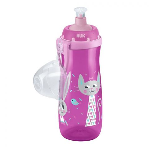 Nuk First Choice Sports Cup, Pink, 450ml, 10751085