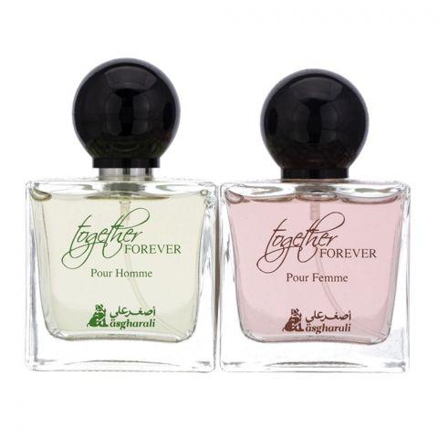 Asgharali Together Forever Eau De Parfum Set, Fragrance For Women, 100ml + 100ml