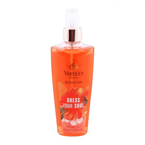 Yardley Sensation Dress Your Soul Perfume Mist, 236ml