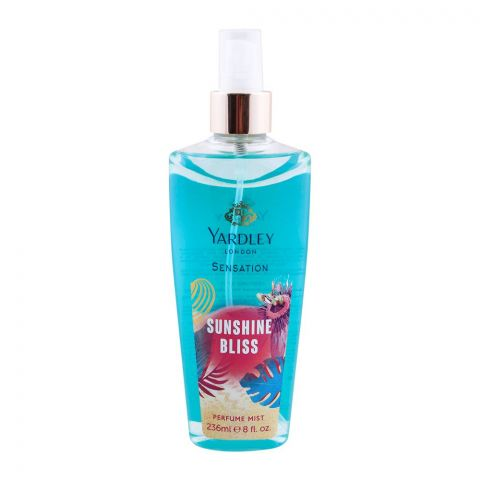 Yardley Sensation Sunshine Bliss Perfume Mist, 236ml