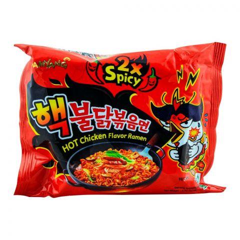 Samyang 2X Spicy Hot Chicken Flavor Ramen Noodle, 140gm