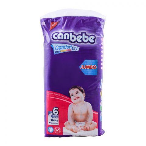 Canbebe Comfort Drt No. 6 , Jumbo Extra Large, 16+ KG, 46-Pack