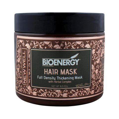 Bioenergy Full Density Thickening Mask With Herbal Complex, 500ml