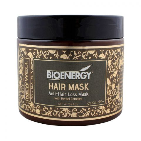 Bioenergy Anti-Hair Loss Mask With Herbal Complex, 500ml