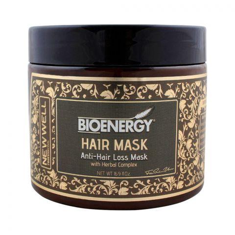 Bioenergy Anti-Hair Loss Mask With Herbal Complex, 500ml