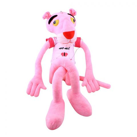 Live Long Pink Panther Stuffed Toy, 1002