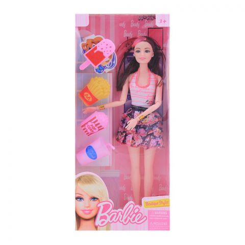 Live Long Barbie Doll, Small, Printed Skirt, 2271-2