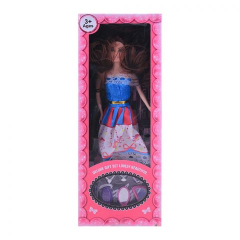 Live Long Doll Deluxe Gift Set, Blue Dress, 2271-5