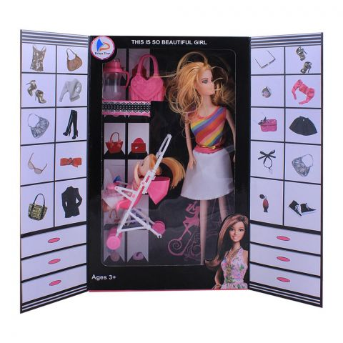 Live Long Doll Closet With Accessories, 2271-6