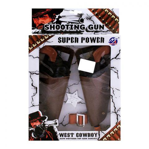 Live Long Cowboy Shooting Gun Set, 9274