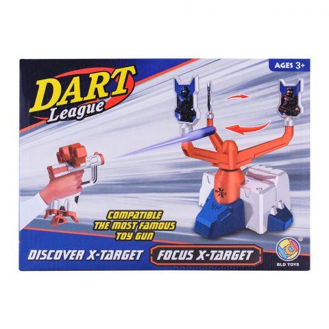 Live Long Dart League Shooting Gun, Large, B3212N