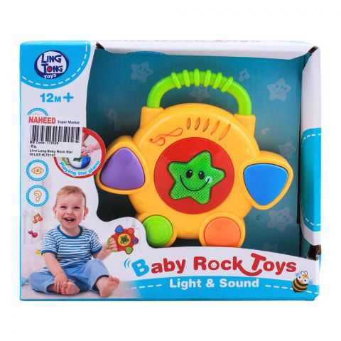 Live Long Baby Rock Star With Light & Sound, LT8102