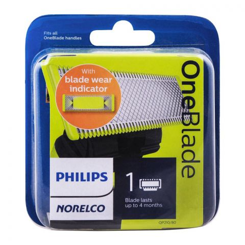 Philips Norelco OneBlade Replacement Blade, 1 Cartridge, QP210/80