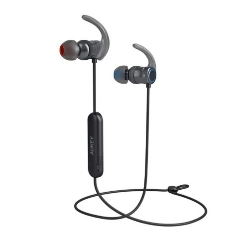 Aukey Magnetic Wireless Earbuds, Black, EP-B67