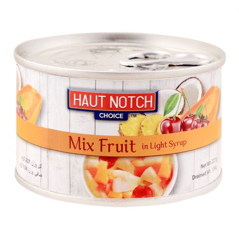 Haut Notch Mix Fruit, In Light Syrup, 227g