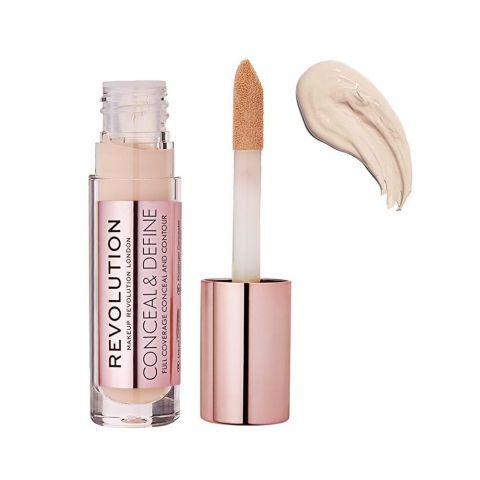 Makeup Revolution Conceal & Define Full Coverage Concealer, C2