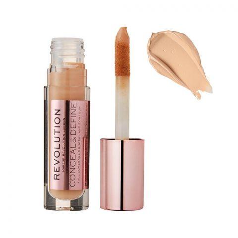Makeup Revolution Conceal & Define Full Coverage Concealer, C8