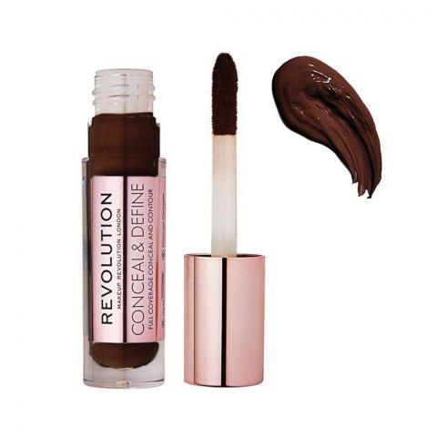 Makeup Revolution Conceal & Define Full Coverage Concealer, C18