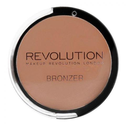 Makeup Revolution Bronzer Powder Bronzer, Bronzer Kiss