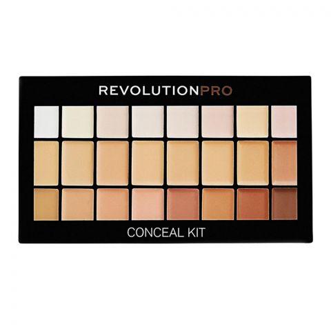 Makeup Revolution Pro Concealer Kit, Light/Medium