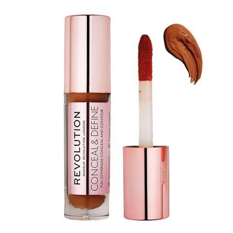 Makeup Revolution Conceal & Define Full Coverage Concealer. C16