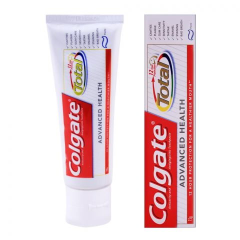 Colgate Total Advanced Health Toothpaste 100g + 75g, Save Rs. 50