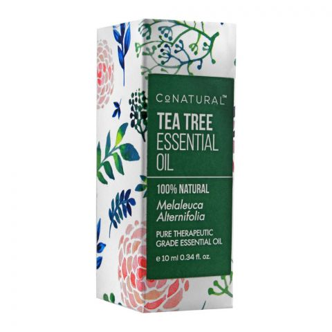 CoNatural Tea Tree Essential Oil, Therapeutic Grade Essential Oil, 10ml