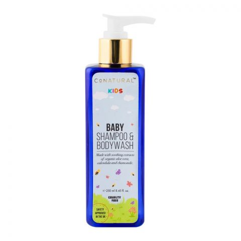 CoNatural Kids Baby Shampoo & Body Wash, 250ml