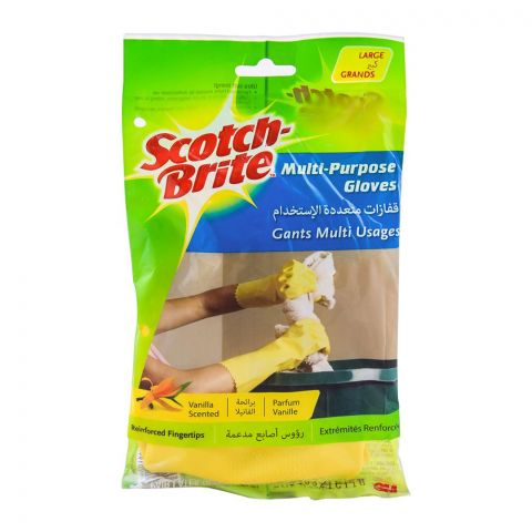 Scotch Brite Multi-Purpose Hand Gloves, Large