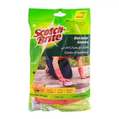 Scotch Brite Outdoor Hand Gloves, Large