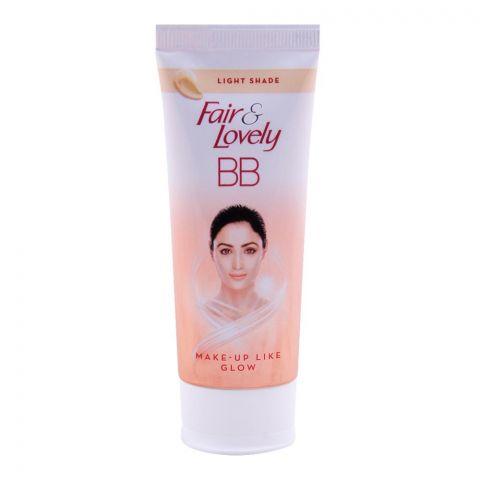 Fair & Lovely BB Foundation + Fairness Cream, Light Shade, 40g