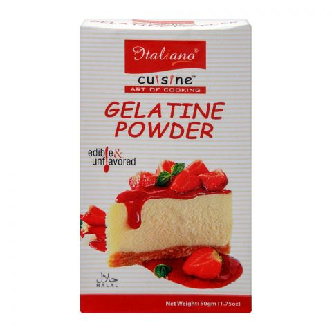 Italiano Gelatine Powder, 50g