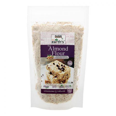 The Earth's Almond Flour, Gluten Free, 370g