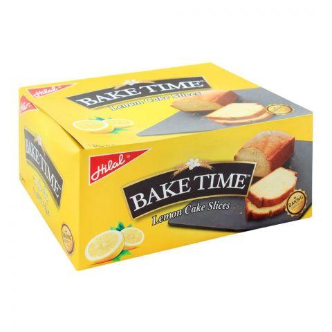 Hilal Bake Time Lemon Cake Slice, 6 Packs, 40g