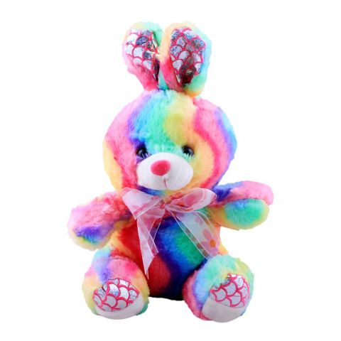 Live Long Rainbow Bear With Light Rabbit, 1646-R