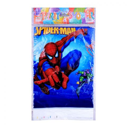 Live Long Party Supplies Spiderman Table Cloth, 1701-1