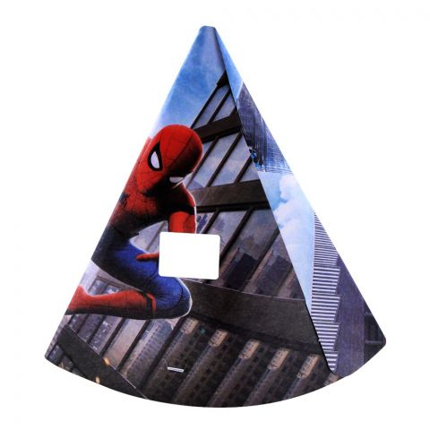 Live Long Party Supplies Spiderman Cap, 1701-4