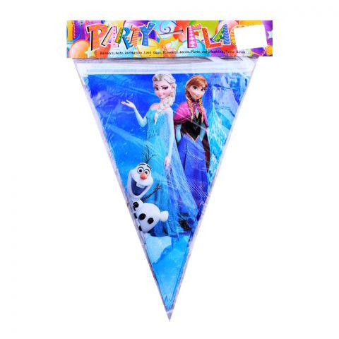 Live Long Party Supplies Frozen Bunting, 1701-5