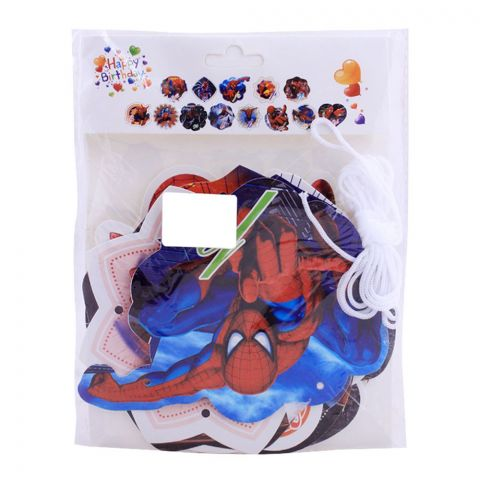 Live Long Party Supplies Spiderman Backdrop, 1701-7