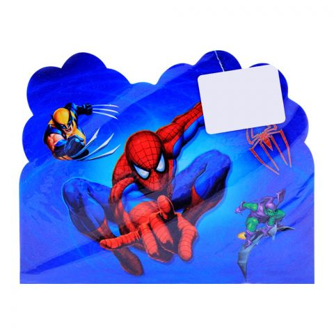 Live Long Party Supplies Spiderman Invitation Cards, 1701-8